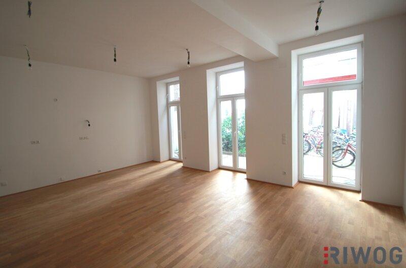 !! ruhige GARTENWOHNUNG mitten in der Stadt !! 2 Zimmer Erstbezug nähe Augarten/Donaukanal