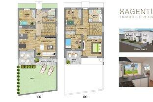 !!!NEUBAU: Wunderschönes 5-Zimmer-Reihenhaus mit Garten zu kaufen!!!