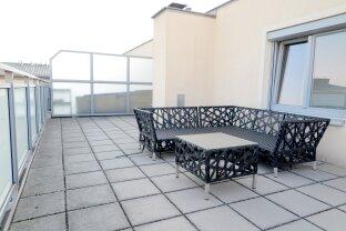 Hoch über den Dächern mit 41m² DACHTERRASSE!! 1-Zimmer HIT für Singles u. Pärchen!!