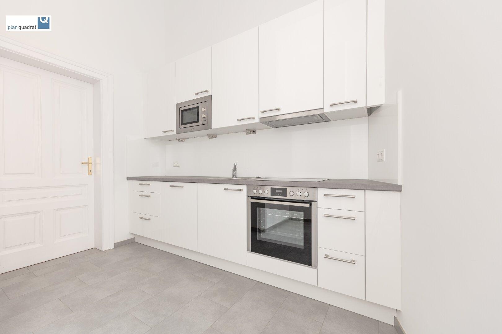 Küche (ca. 8,40 qm) mit neuer Küchenzeile