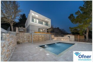 Dalmatien: exklusive Villa direkt am Meer - Nähe Zadar
