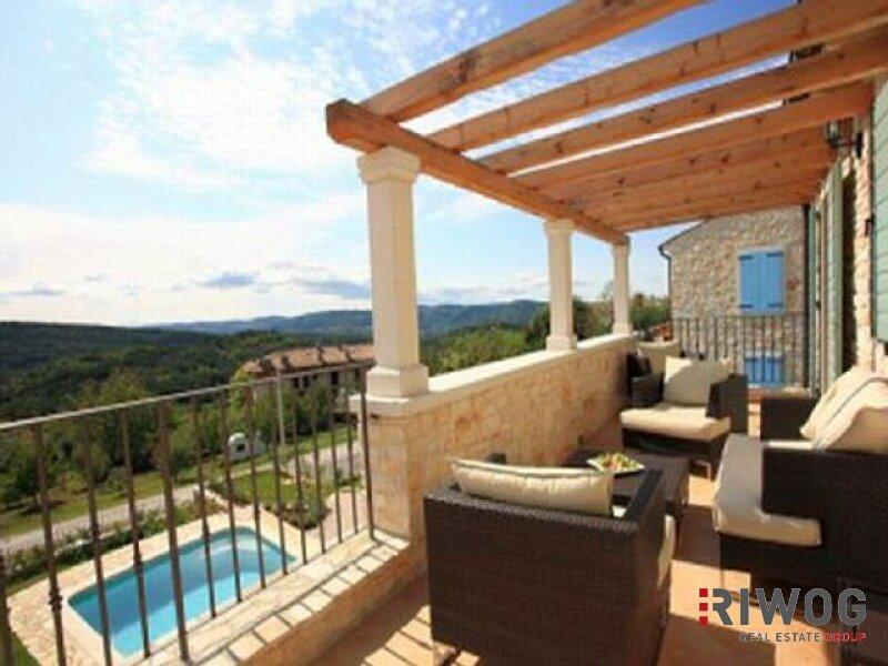 +++Tolles Steinhaus mit wunderschönen Blick auf die Berge+++ /  / 52420Buzet und Motovun / Bild 9