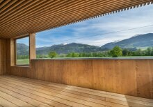 1. Bezug - Provisionsfrei: 3-Zimmer-Gartenwohnung in Sonnenlage von Terfens - Top A01