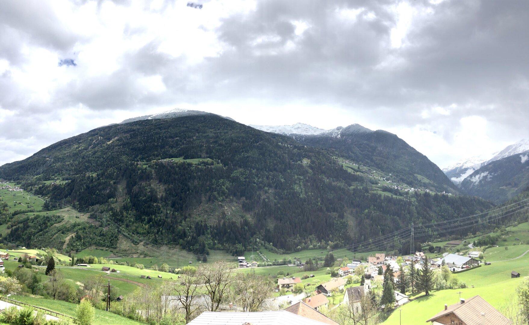 Toller Ausblick auf die Pitztaler Berge