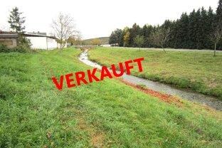 """Grundstück mit 897 m² in Ruhelage mit Blick auf Bach in Stoob """"VERKAUFT"""""""