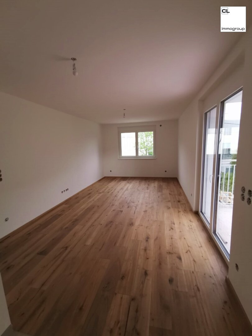 Wohnraum und Küche - Demo