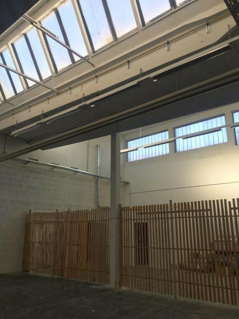 Halle mit guter Belichtung über das Dach