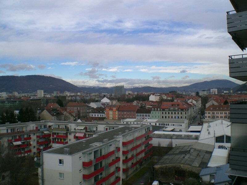 118m² 4 Zimmer Wohnung in Graz Jakomini mit herrlicher Fernsicht