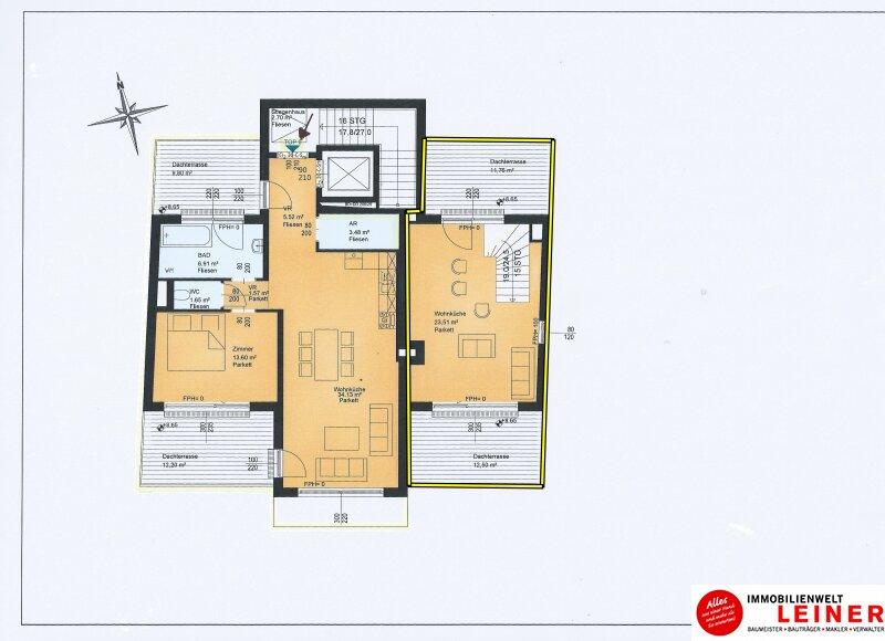 2 Zimmer Wohnung + Eigengarten + Balkon -  Oberlaa, Wohnerlebnis der Extraklasse – Schlüsselfertig – Provisionsfrei! Objekt_8785 Bild_499