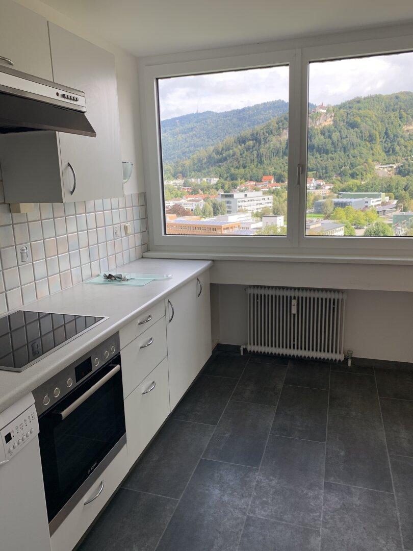 Küche, Ausblick