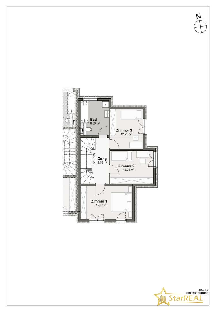 OBERGESCHOSS Haus 3