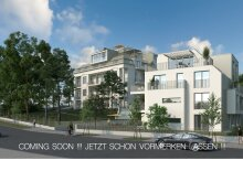 Altbautraum in berühmter Villa - Luxuriöse 3 Zimmer-Terrassenwohnung - PARKVILLA M17