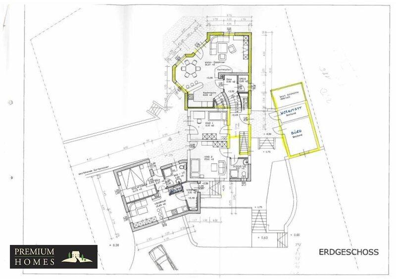 Kirchbichl Zweifamilienhaus_ hohe Qualität mit Modernem Design_Grundriss_Erdgeschoss