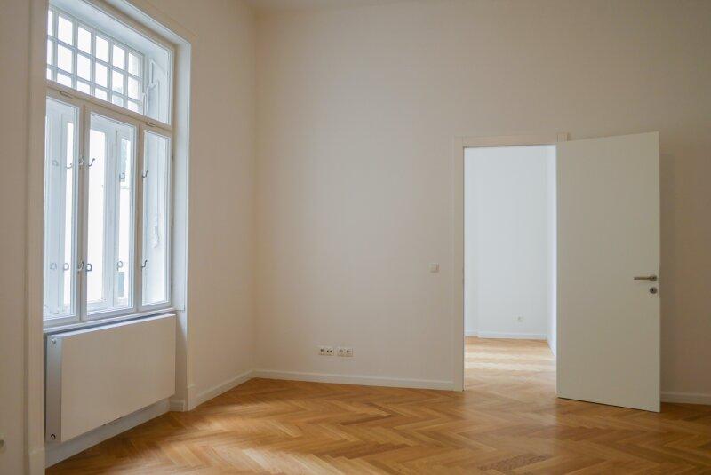 Wohnbereich und Zimmer hofseitig