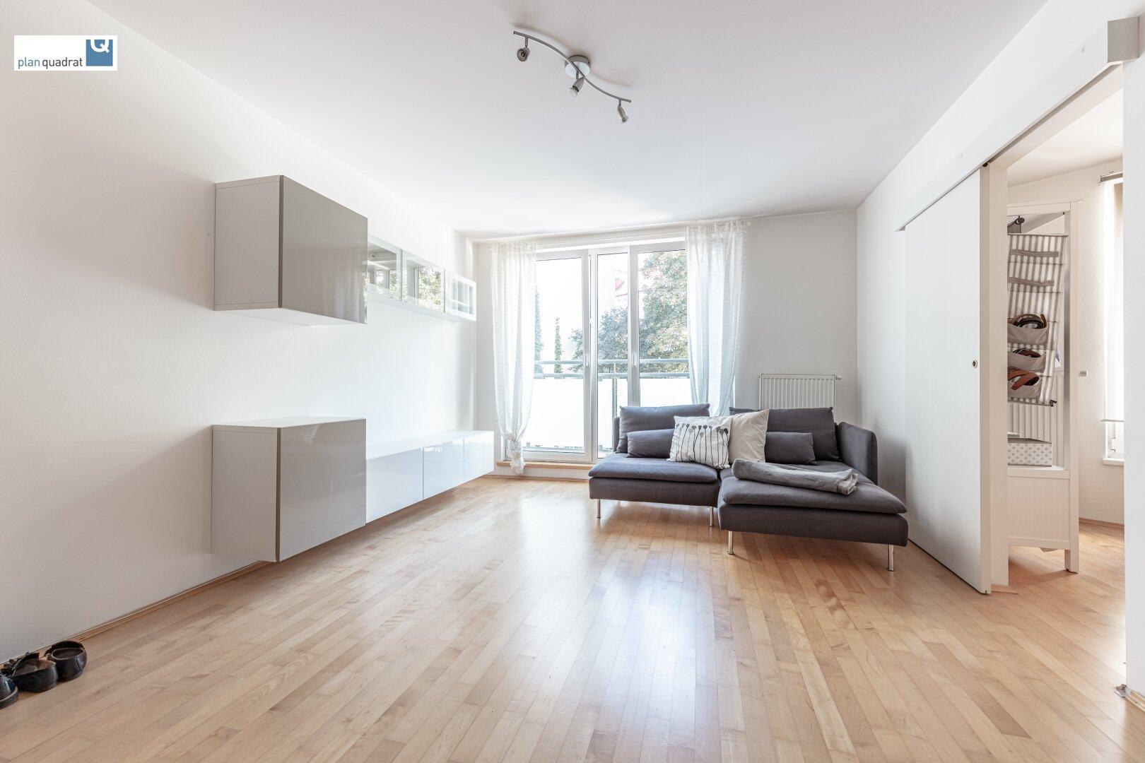 Wohn- / Esszimmer (ca. 19,50 m²)
