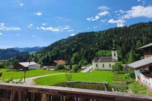 VERMIETET: 4-Zimmer Mietwohnung in schöner Aussichtslage Thiersee-Landl