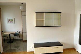 DONAU CITY : Möbliertes Apartment mit verglaster Loggia und Weitblick **** nahe UNO / VIC !