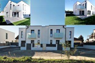 NAGELNEUES - Familienhaus mit Garage -  51 m² Wohnküche und 4 Zimmer, 2 Balkone - 10 km vom Kreisverkehr Favoriten