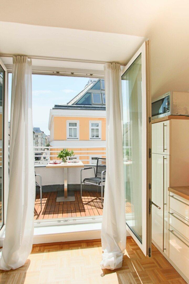 Terrasse /  Küche