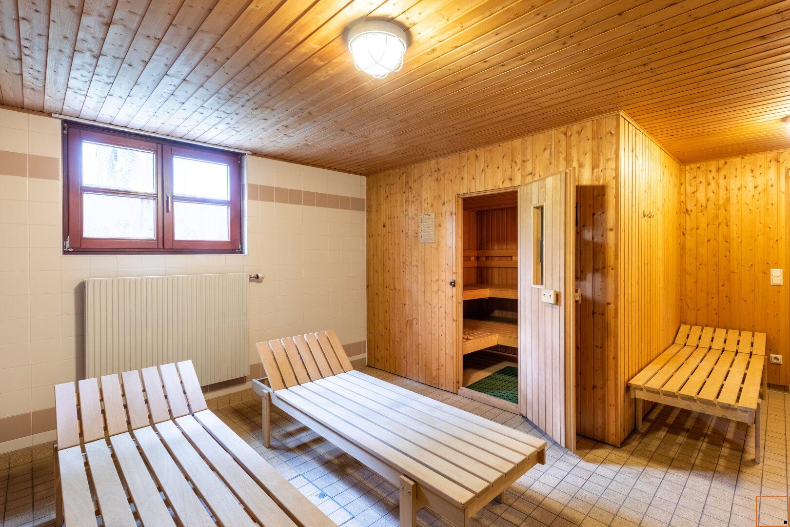 Wellness-Bereichs mit Sauna