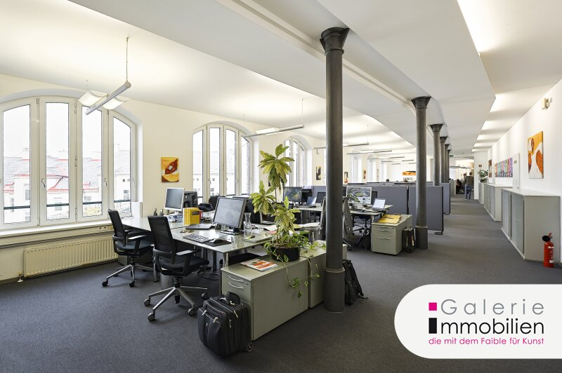 Loftsbüros und Tiefgaragenplätze im Stilaltbau beim Margaretenplatz - langfristige Vermietung Objekt_29164