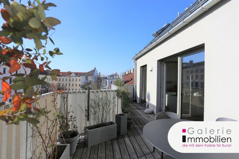 Spektakuläre DG-Wohnung mit Terrasse auf Wohnebene Objekt_34689