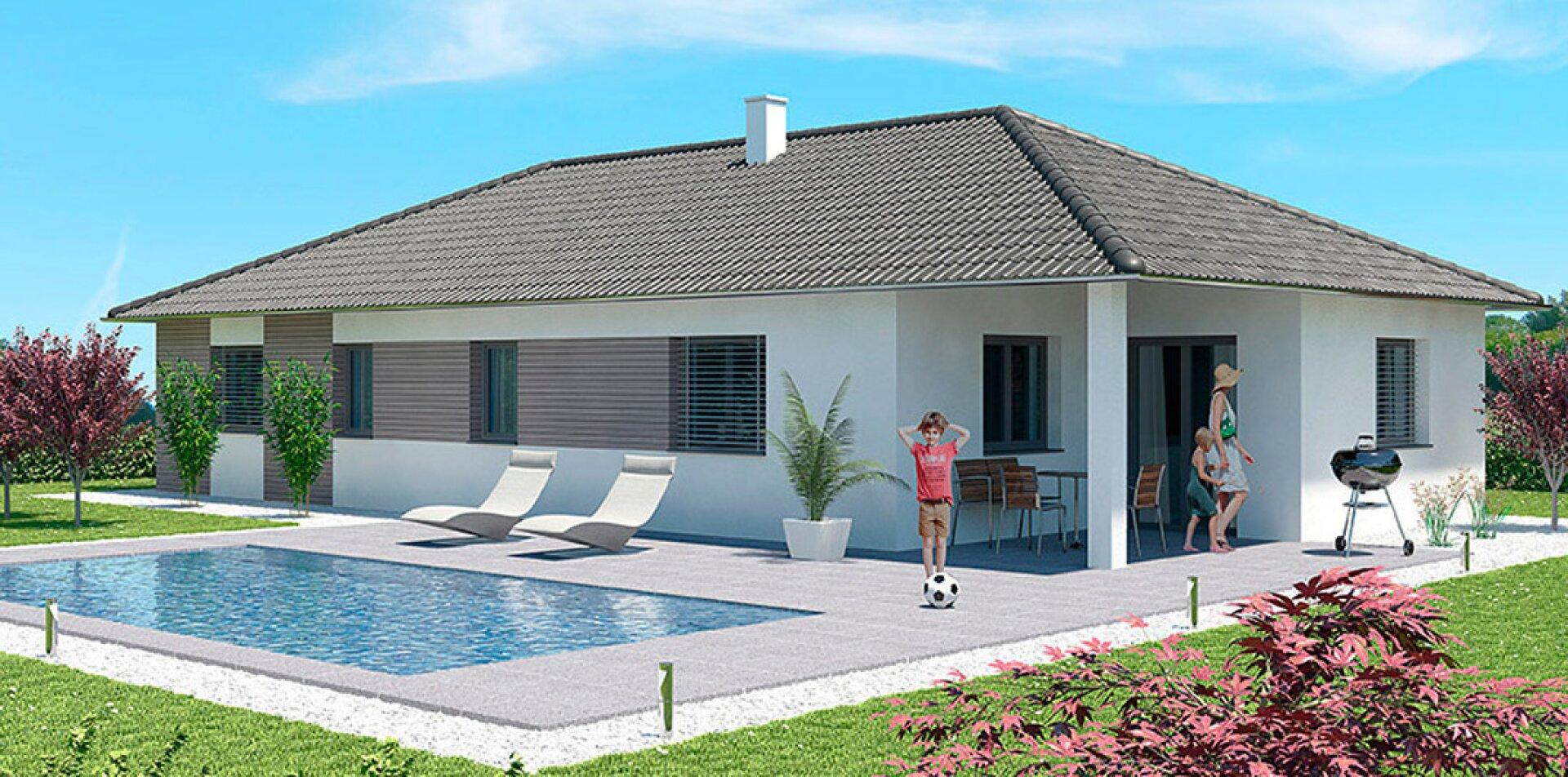 Wohnfläche 100 m²