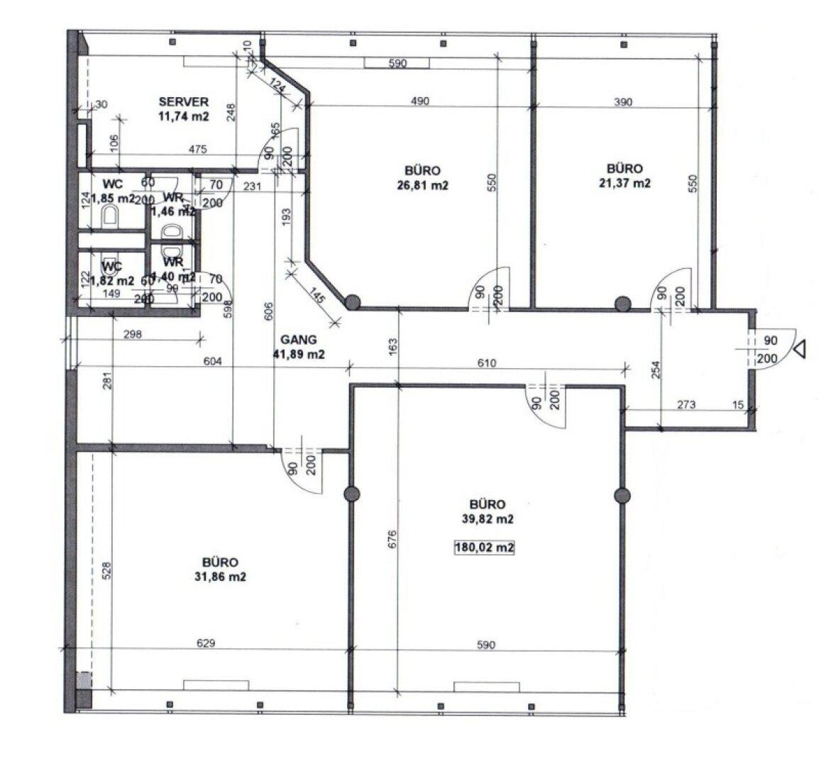 Plan: 180 m²_ 1. Stock