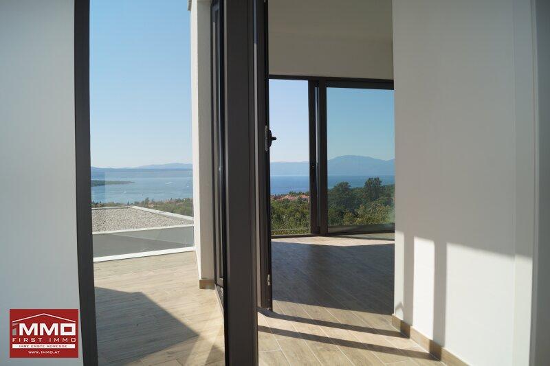 Design-Insel-Traumhaus mit Panorama-Blick auf die Kvarner Bucht /  / 51511Sveti Vid-Miholjice / Bild 11