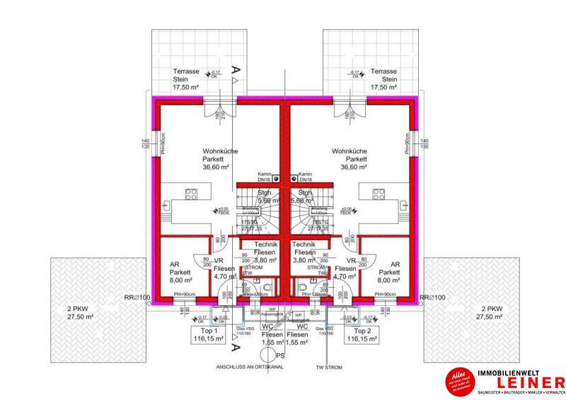 NÄHE WIEN - Doppelhaus mit 3 Schlafräumen und feinem Garten! Objekt_9003 Bild_418