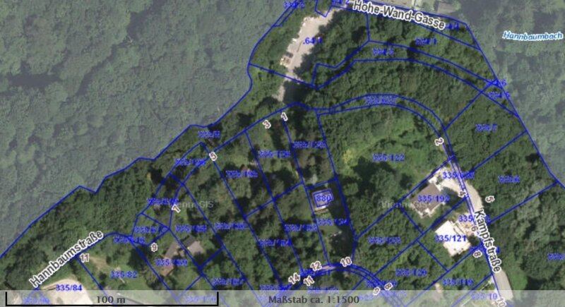 2.663 m² Baugrund in PENZING / Projektiert für 2 Doppelhäuser /  / 1140Wien / Bild 7