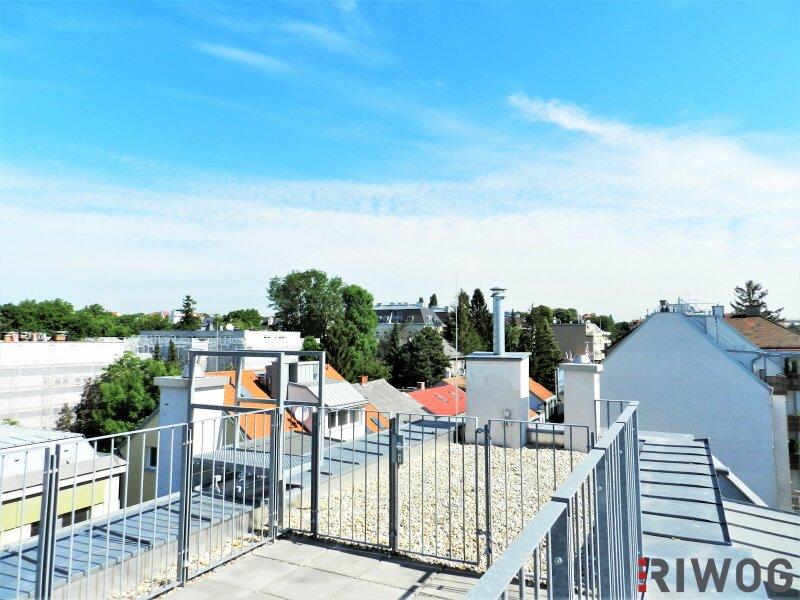 Im Herzen Hetzendorfs - Dachgeschoss-Wohnung mit zwei Terrassen und traumhaften Weitblick   inkl. Stellplatz /  / 1120Wien / Bild 1