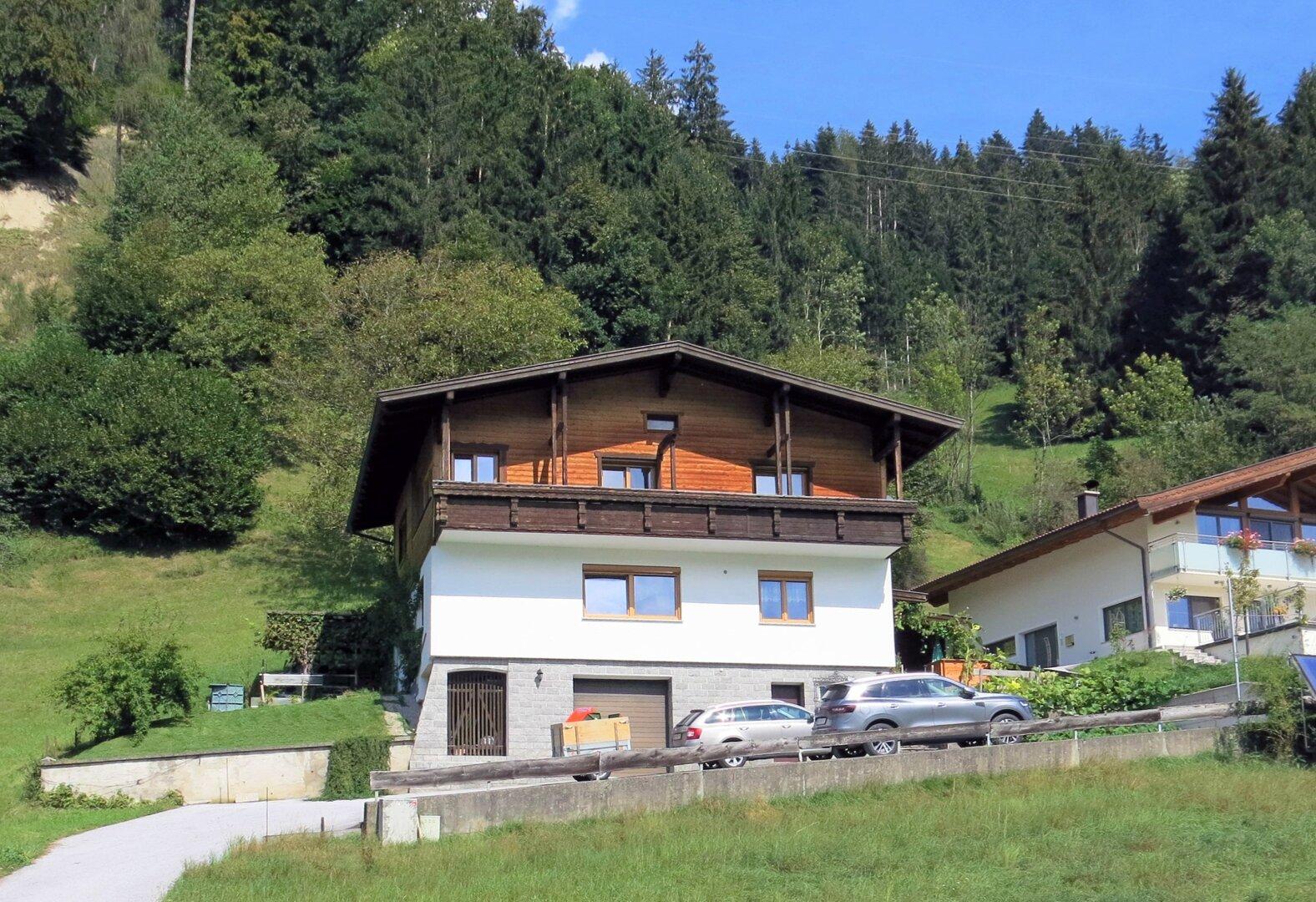 Einfamilienhaus Kirchbichl, Ansicht von Süden