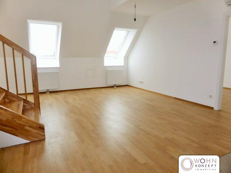 Erstbezug: 97m² Dachausbau + 14m² Terrasse mit Einbauküche - 1090 Wien