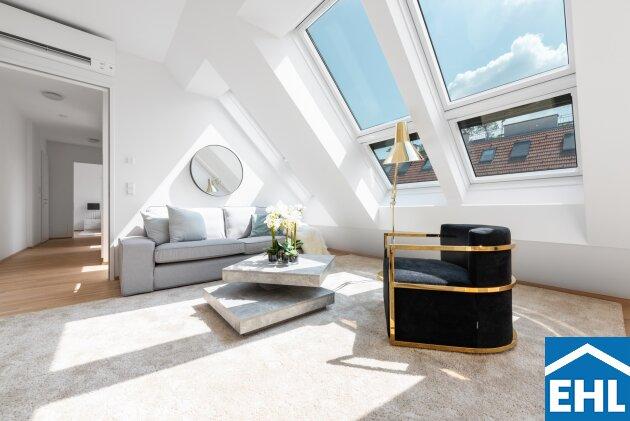 Dachgeschoss Eigentumswohnung mit urbanem Flair und Grünblick