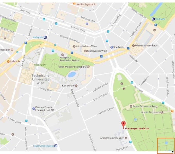 Botschaftsviertel - klimatisierte Altbauwohnung mit Blick in den Park des Palais Schwarzenberg /  / 1040Wien / Bild 4