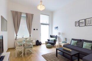 Am Puls der Leopoldstadt! Ansprechendes, geschmackvoll möbliertes 2-Zimmer-Apartment zu mieten!