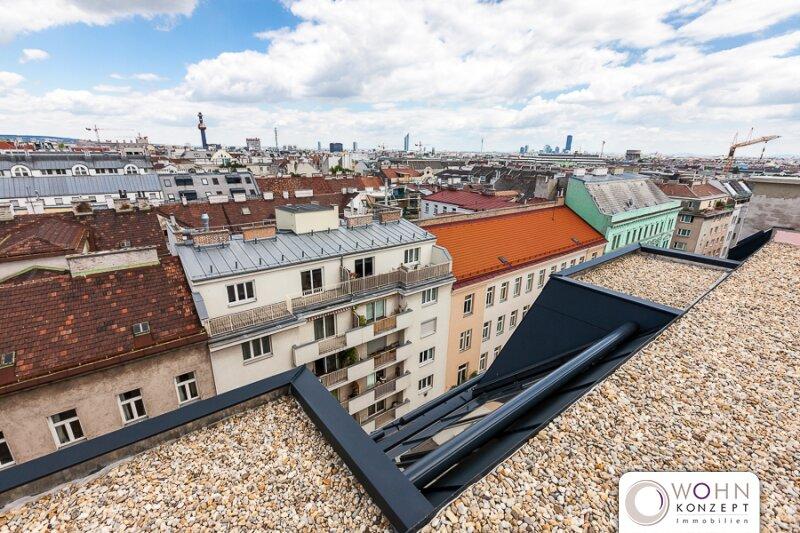 EXKLUSIVE 125m² DACH-MAISONETTE - Erstbezug  mit Terrasse - 1090 Wien
