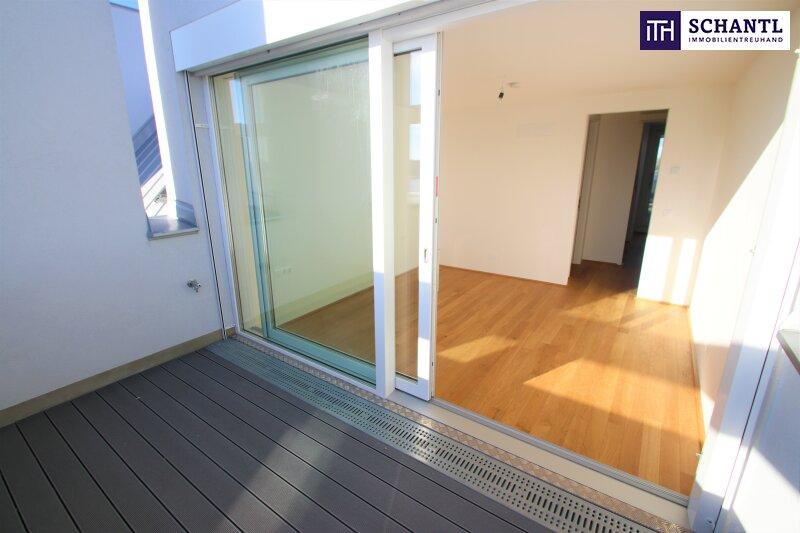 Zu Hause im Urlaub! Erstbezug im Dachgeschoss auf zwei Ebenen mit 4 Terrassen! Provisionsfrei!!! /  / 1220Wien / Bild 18