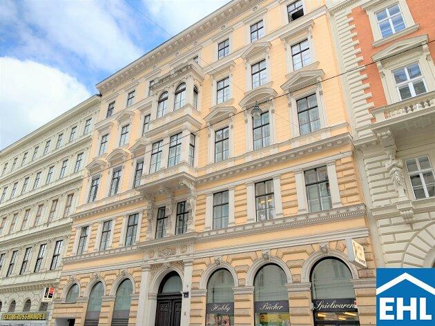 Altbau-Bürotraum in Wiener Innenstadt