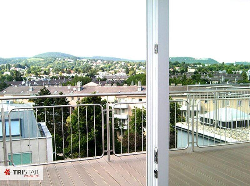 Extravagante Penthouse-Wohnung mit Blick über Döbling