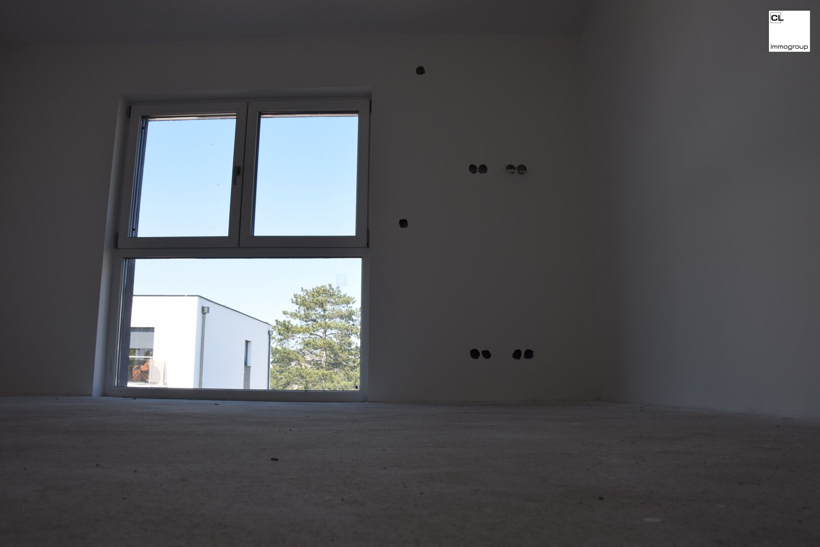 Moderne Fenster im Schlafzimmer - OG