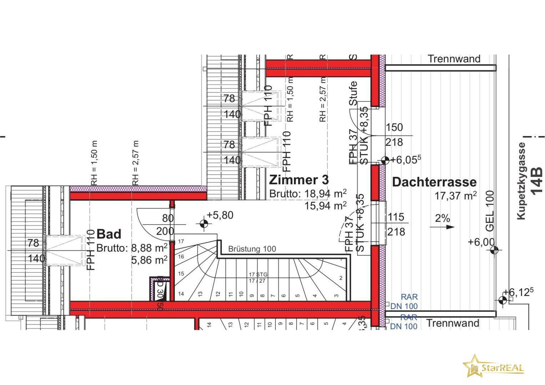 Dachgeschoss 14B