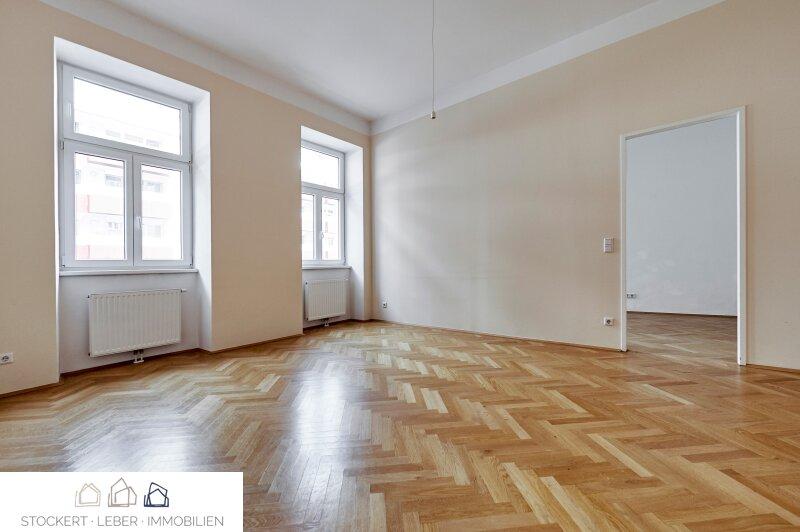 Sanierte 3 Zimmer-Mietwohnung in prachtvollem Gründerzeithaus