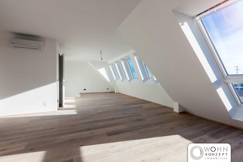 LUXUS-DACH-ERSTBEZUG PROVISIONSFREI - 138m² Terrassen-Maisonette mit DACHTERRASSE und WIENBLICK - 1140 Wien