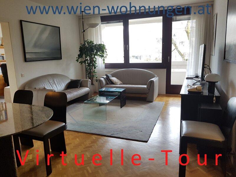 Sehr ruhige und gut aufgeteilte Vier-Zimmer-Wohnung mit Balkon