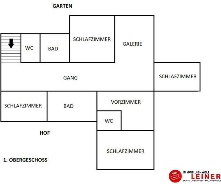 6 Zimmer Bürogebäude/Praxis in geschichtsträchtigem Gebäude nahe Wien Objekt_10771 Bild_211