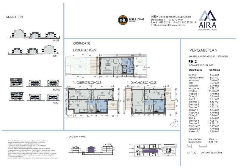 KEINE DACHSCHRÄGEN - 5 Schlafzimmer - 210 qm Gesamtfläche - PROVISIONSFREI für den Käufer /  / 1220Wien / Bild 7