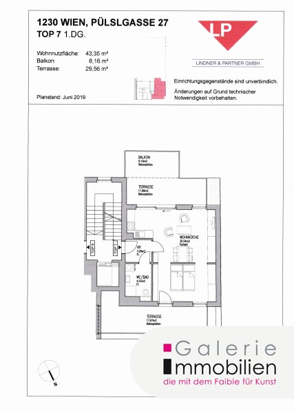 Bezaubernde DG-Wohnung mit 2 großen Terrassen auf der Wohnebene Objekt_30266 Bild_515