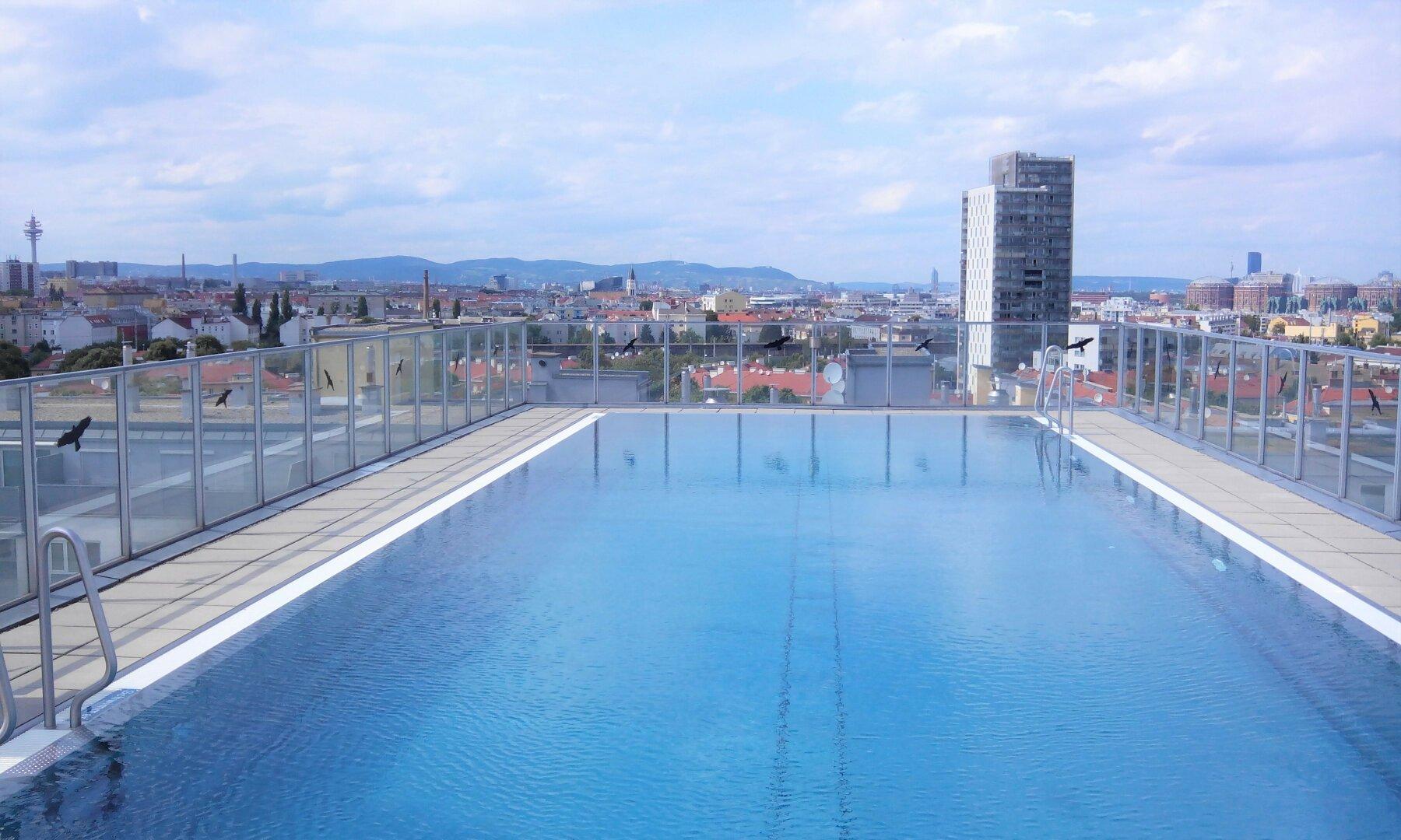 Dach-Swimmingpool